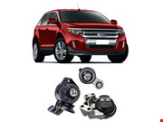 Coxim do Motor Ford Edge Limited Se/Sel 3.5 V6 24V Gasolina 2009 ate 2014 (Kit 3 Unidades)